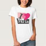 I LOVE PARIS CAMISETA