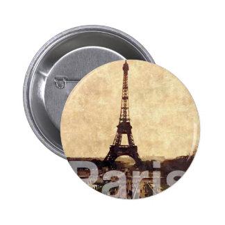 I Love París Chapa Redonda De 5 Cm