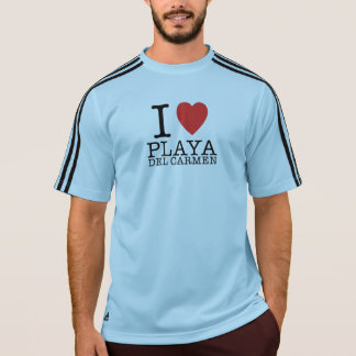 I love Playa del Carmen Adidas Shirt Camiseta