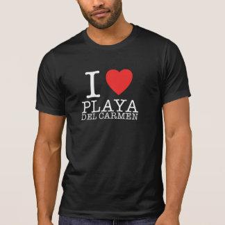 I love Playa del Carmen Retro Shirt Camiseta