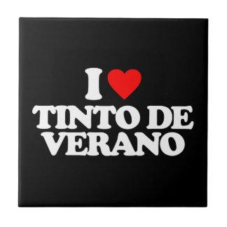 I LOVE TINTO DE VERANO AZULEJOS CERAMICOS