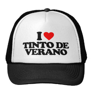 I LOVE TINTO DE VERANO GORRA