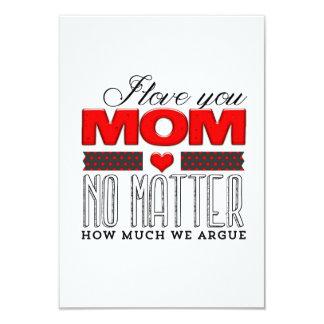 I love you Mom no metter... /  Happy Mother's Day Anuncios Personalizados