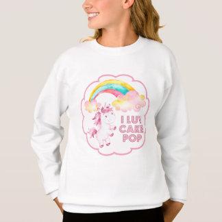 I Luv CakePop la camiseta del unicornio