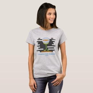 Camiseta I marzo para la camiseta de las señoras de la