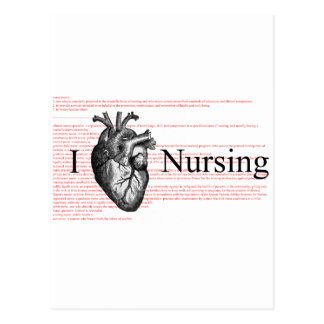 I oficio de enfermera del corazón postal