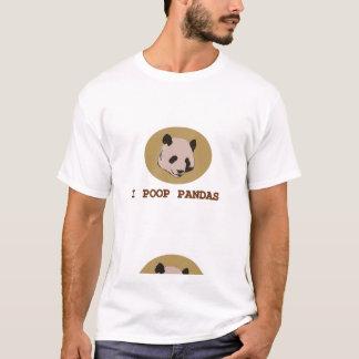 I pandas del impulso camiseta