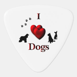 I perros del corazón púa de guitarra