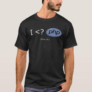 ¿I <? PHP CAMISETA