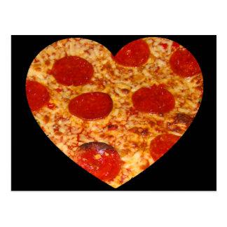 I pizza del corazón postal