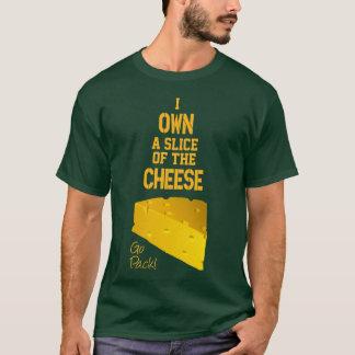 I poseer una rebanada de la camiseta del queso