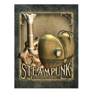 I postal de Steampunk del corazón
