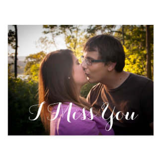 I postal romántica de Srta. You Custom Photo