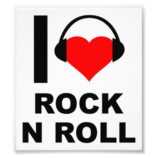 I poster divertido de la roca del corazón fotografías