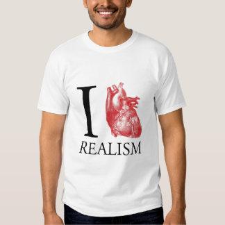 I realismo del corazón camisetas