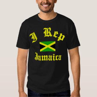 I representante Jamaica Camisetas