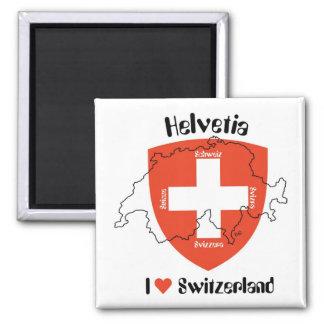 I Switzerland love imán