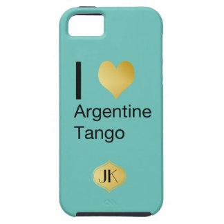 I tango de Argentina del corazón Funda Para iPhone SE/5/5s