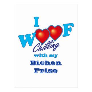 I tejido Bichon Frise Postal