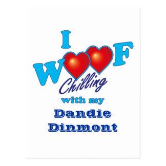 I tejido Dandie Dinmont Postal