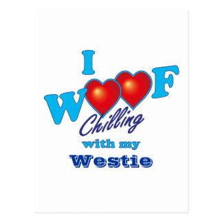 I tejido Westie Postal