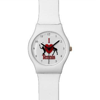 I tenis del corazón reloj de pulsera