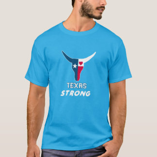 I Texas love. Texas strong. Usted playera