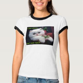 I tiene gatito de los extranjeros - camisetas