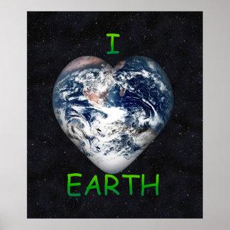 I tierra del corazón (tierra del ♥ de I) Posters