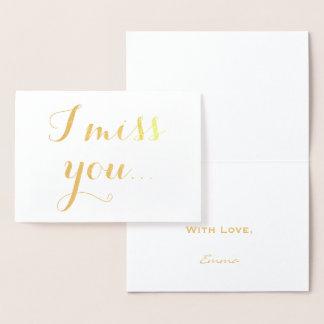 I tipografía elegante del efecto metalizado de oro tarjeta con relieve metalizado