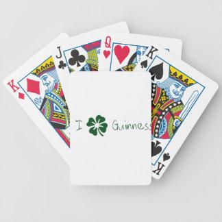 I trébol Guinness Baraja Cartas De Poker
