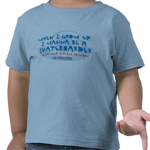 I Wann sea un skater - THF - camiseta