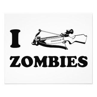 I zombis de la ballesta folleto 11,4 x 14,2 cm