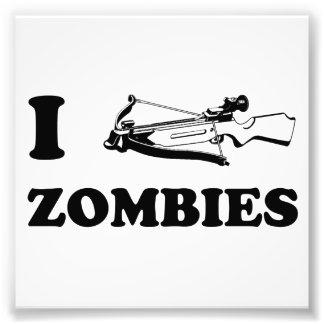 I zombis de la ballesta impresion fotografica