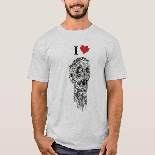 I zombis del corazón camiseta