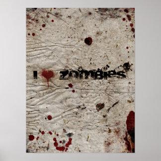 I zombis del corazón impresiones