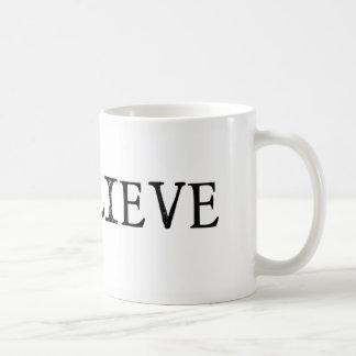 #iBelieve el blanco clásico de la taza de café