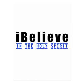 iBelieve en el Espíritu Santo Postal