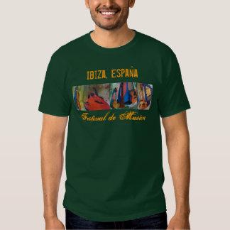 Ibiza, festival de música de España - frente Camiseta