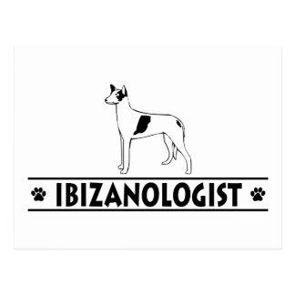Ibizan chistoso postal