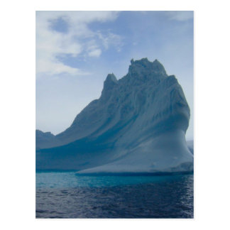 Iceberg antártico postal
