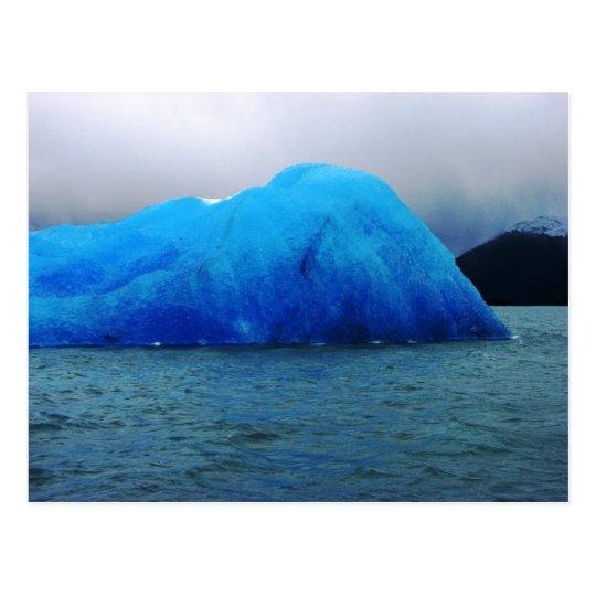 Iceberg, glaciar de Upsala, Lago la Argentina Postal