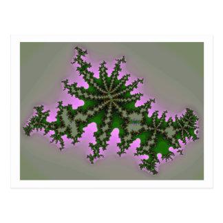 Icono 1 del fractal tarjeta postal