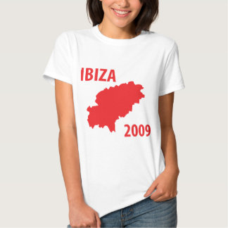 Icono 2009 de Ibiza Camisetas