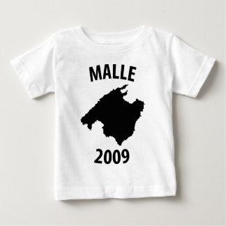 icono 2009 del malle camiseta de bebé