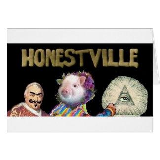 Icono 2,0 de Honestville Tarjetas
