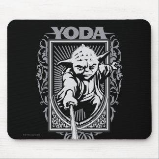 Icono A de Yoda Alfombrilla De Ratón