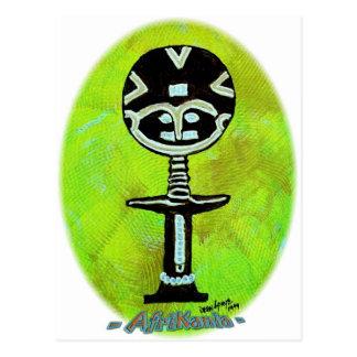 Icono africano: Akuaba (Ghana) Postal