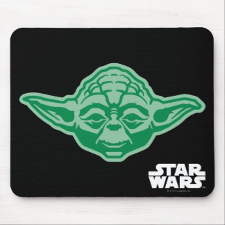 Icono B de Yoda Alfombrilla De Ratón