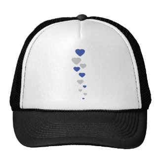 icono bávaro de los corazones gorras